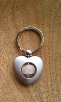 Rose Quartz Fertility Keychain
